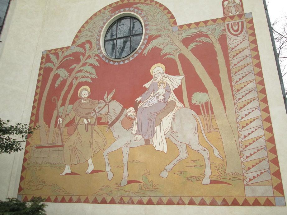 utěk sv Rodiny do Egypta